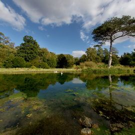 Scampston Hall - The Lower Lake