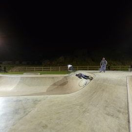 Hairy Bob's Skatepark Night