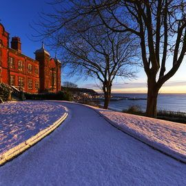 Scarborough Town Hall Snow